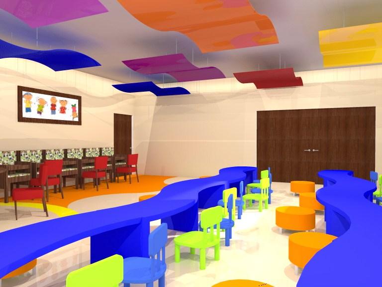 Proyecto tesis centro infantil gaby design for Proyecto comedor infantil