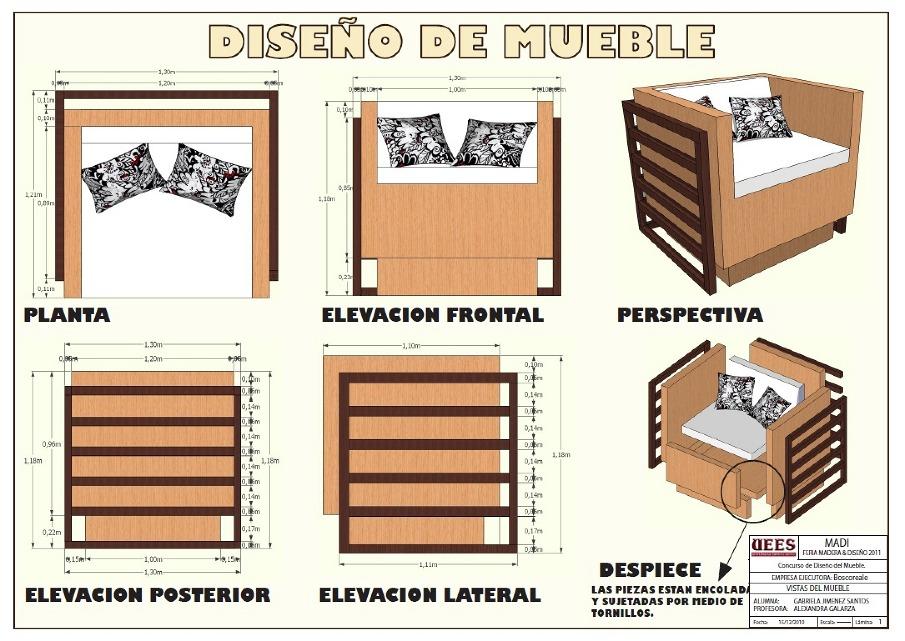 Concurso dise o de mueble gaby design for Muebles de diseno uruguay