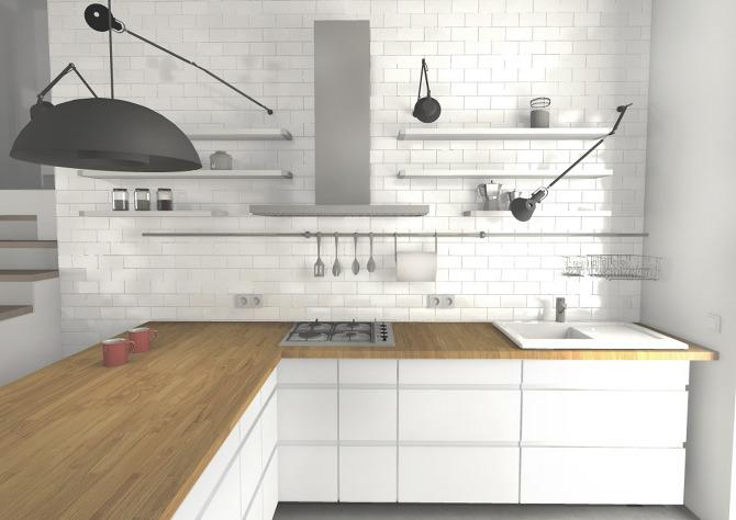 Małe Kuchnie Z Półwyspem Pictures to pin on Pinterest -> Projekt Kuchnia Restauracja Koszalin